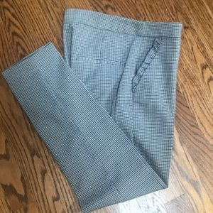 Zara Basic tweed pants size small